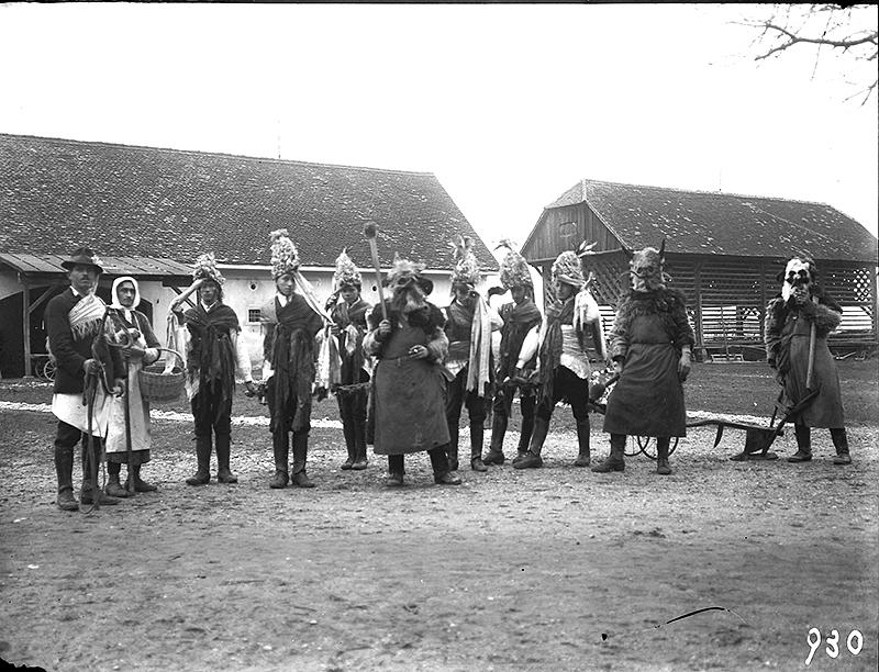Orači in koranti Lancova vas 1930